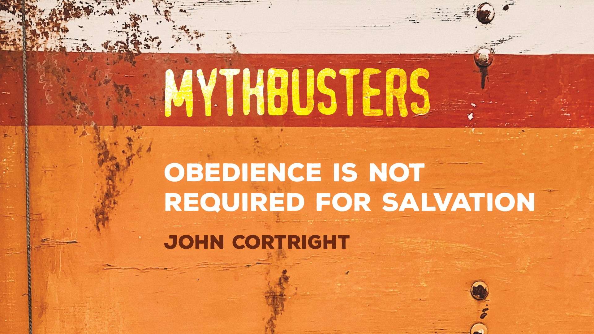 Obedience is Not Required for Salvation